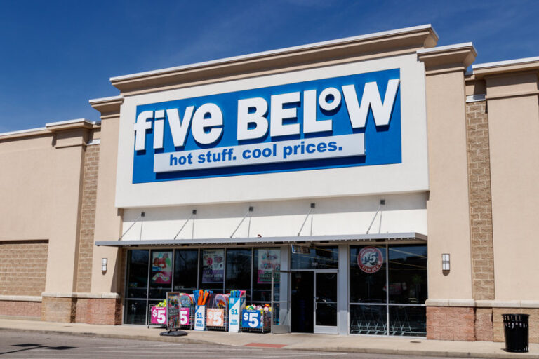 Le azioni Five Below scambiate in ribasso nel trading after-hour